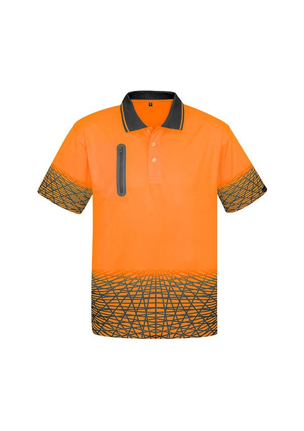 Orange Hi Vis Polo