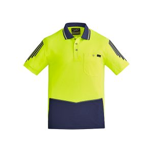 Yellow and Navy Hi-Vis