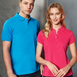 Royal polo and Pink polo