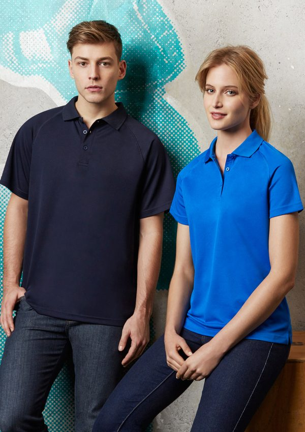 Navy polo and Royal polo