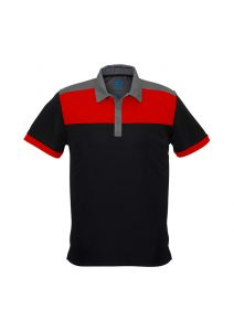 Black and Red Polo