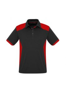 Rival Polo Black and Red
