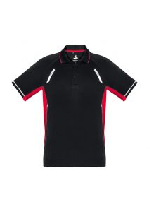 Black and Red Renegade Polo