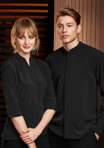 Black shirt worn