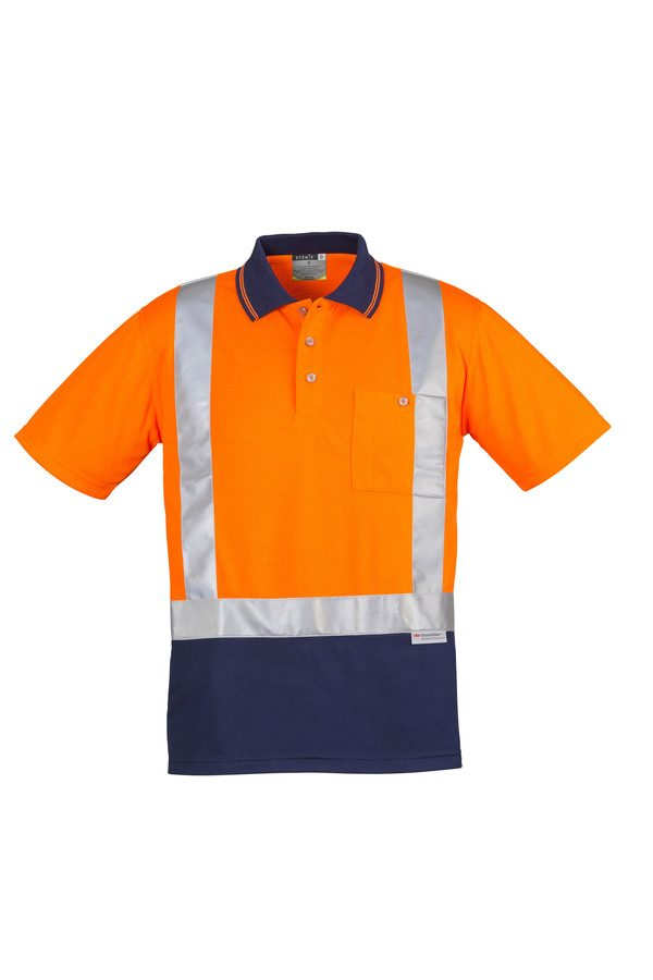 Orange/Navy Polo