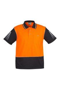 Orange/Black Polo