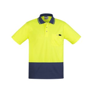 Yellow/Navy Polo