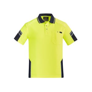 Yellow and Navy Polo