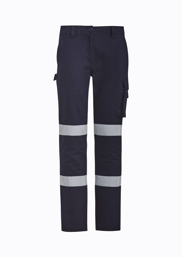 Navy Pants with tape
