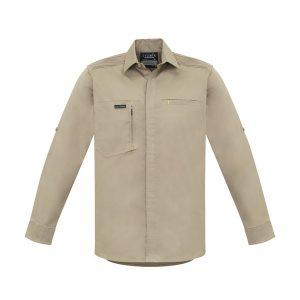 Khaki long sleeve shirt