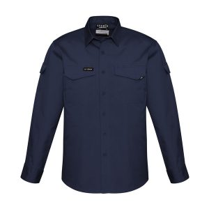 Navy long sleev shirt