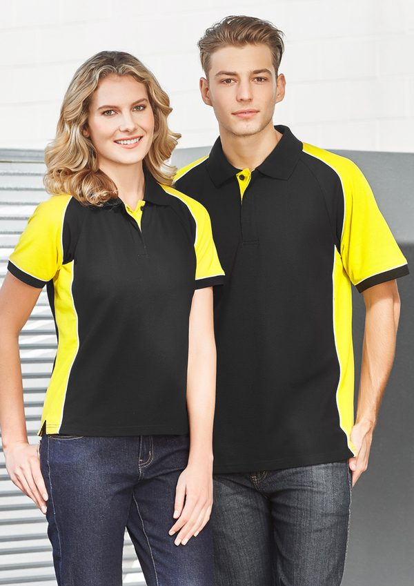 Black and Yellow polo