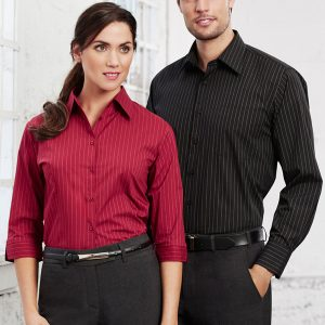 Red Shirt and Black Shirt worn