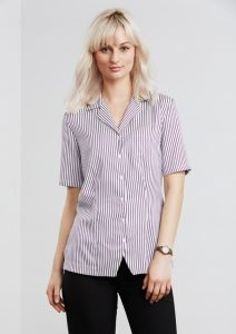 White/Grape shirt worn