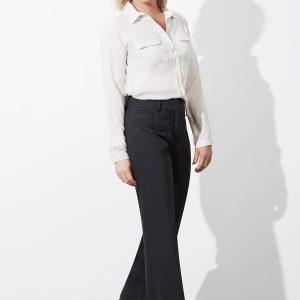 Charcoal marle pants worn