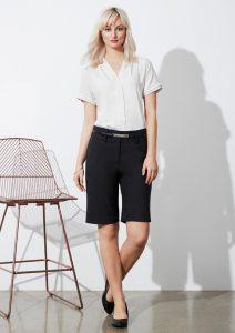 Navy Shorts worn
