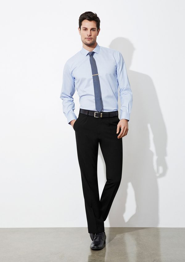 Black pants worn