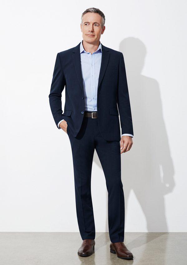 Navy Pants worn