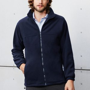 Navy Jacket Worn